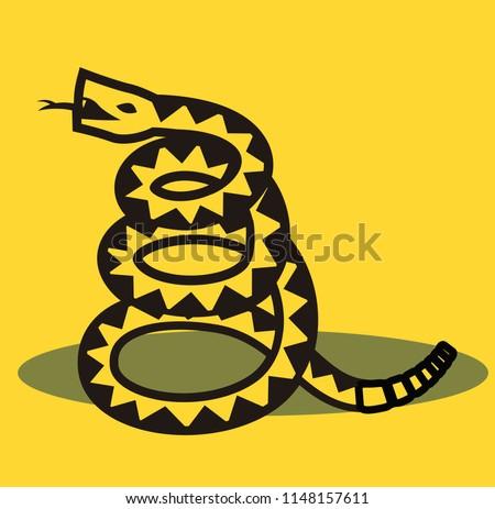 libertarian rattlesnake flag