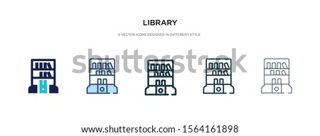 library icon in different style