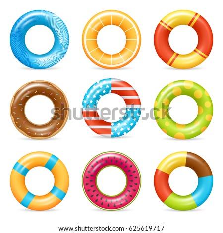 life buoy swimming rings
