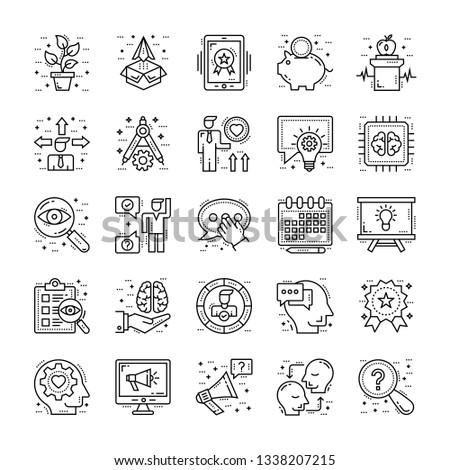 Life Skills Icons Bundle #1338207215