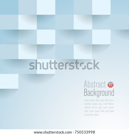 Light blue abstract texture. Vector background can be used in cover design, book design, poster, cd cover, website backgrounds or advertising. #750533998