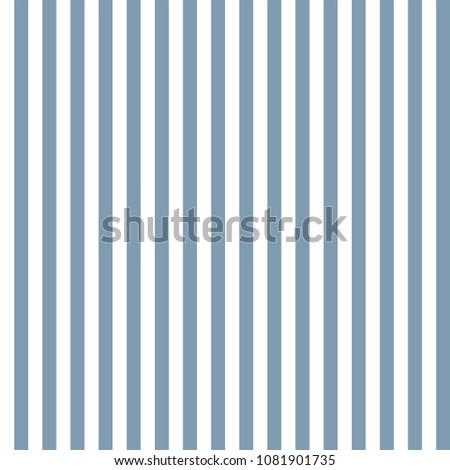 Light Blue and White Stripes Seamless Pattern - Narrow vertical light blue and white stripes seamless pattern
