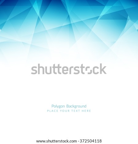 light blue color polygonal