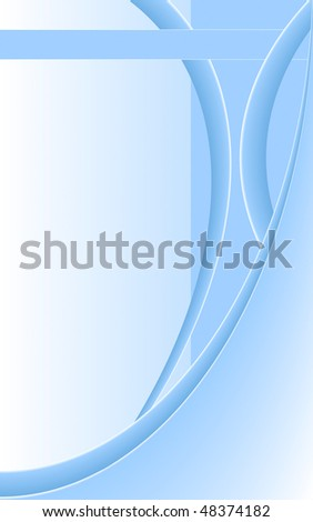 Light blue elegant vector background with copy space - stock vector