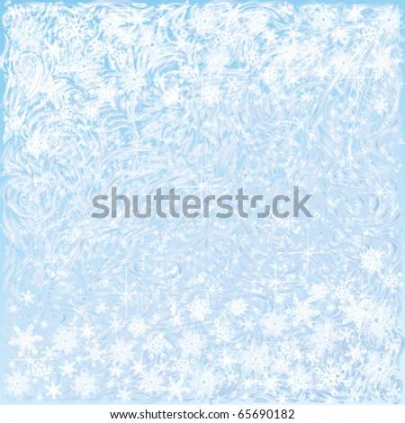 light blue frosty background