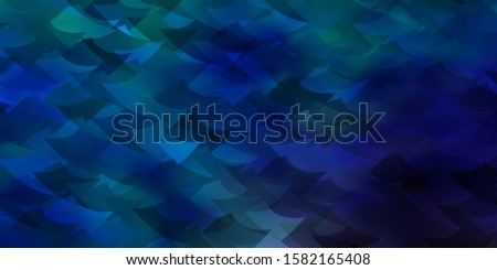 Light Blue, Green vector backdrop with lines, rhombus. Lines, rhombus with colorful gradient. Design for your promotions.