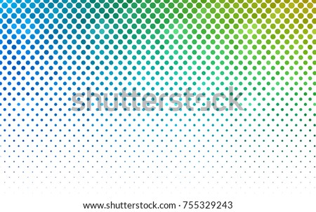 light blue  green vector banner