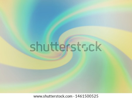 Light Blue, Green vector bokeh template. Glitter abstract illustration with an elegant design. The elegant pattern for brand book.