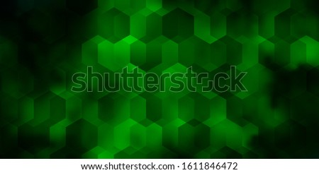 Light Blue, Green vector pattern with colorful hexagons. Colorful hexagons on blur backdrop. Pattern for texture of wallpapers.