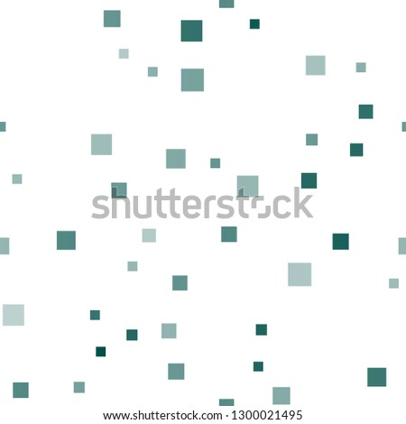 Light Blue, Green vector seamless background with rectangles. Rectangles on abstract background with colorful gradient. The template can be used as a background.