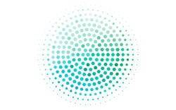 Light Blue, Green vector texture with colorful hexagons. White background with colorful hexagons. Pattern can be used for landing pages.