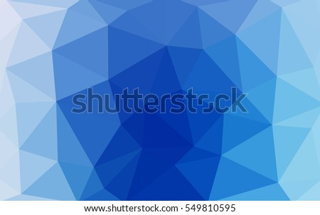 light blue polygonal