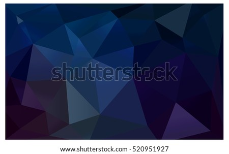 light blue polygonal