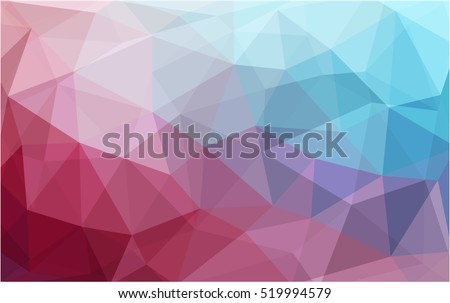Light blue, red Pattern. Seamless triangular Pattern. Geometric Pattern.Repeating pattern with triangle shapes.Seamless texture for your design.Repeating pattern.Pattern can be used for background.