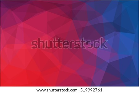 stock-vector-light-blue-red-polygonal-background-creative-geometric-illustration-in-origami-style-with