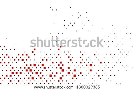 Light Blue, Red vector layout with lines, rectangles. Rectangles on abstract background with colorful gradient. Best design for your ad, poster, banner.
