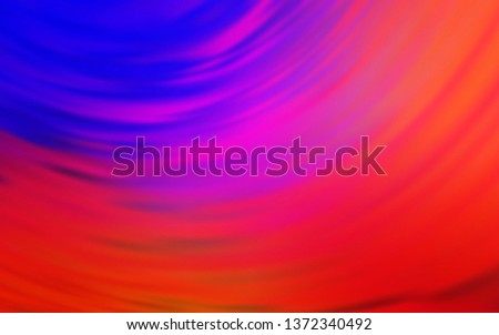 Light Blue, Red vector modern elegant backdrop. An elegant bright illustration with gradient. Completely new design for your business.