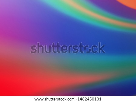 Light Blue, Red vector modern elegant background. An elegant bright illustration with gradient. The blurred design can be used for your web site.