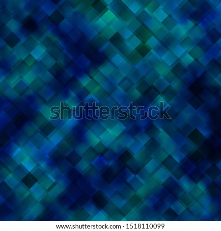 Light BLUE vector backdrop with rectangles. Colorful illustration with gradient rectangles and squares. Pattern for commercials, ads.