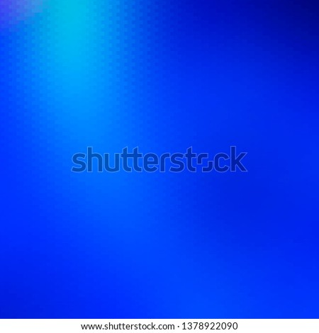 Light BLUE vector backdrop with rectangles. Rectangles with colorful gradient on abstract background. Pattern for commercials, ads.