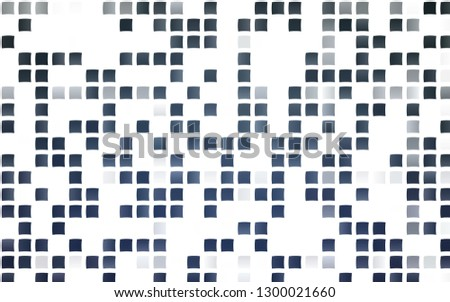 Light BLUE vector backdrop with rectangles, squares. Rectangles on abstract background with colorful gradient. Pattern for busines ad, booklets, leaflets