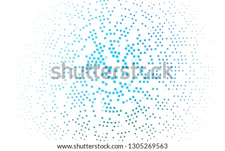 Light BLUE vector backdrop with rectangles, squares. Rectangles on abstract background with colorful gradient. Smart design for your business advert.