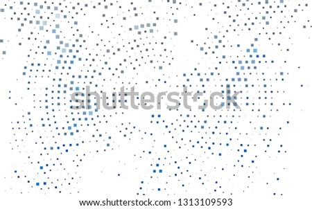 Light BLUE vector background with rectangles. Rectangles on abstract background with colorful gradient. Pattern for busines ad, booklets, leaflets