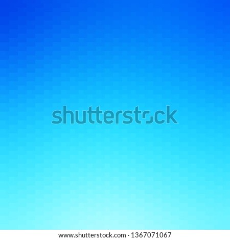 Light BLUE vector background with rectangles. Rectangles with colorful gradient on abstract background. Pattern for busines booklets, leaflets