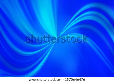 Light BLUE vector blurred shine abstract template. Shining colored illustration in smart style. Background for a cell phone.