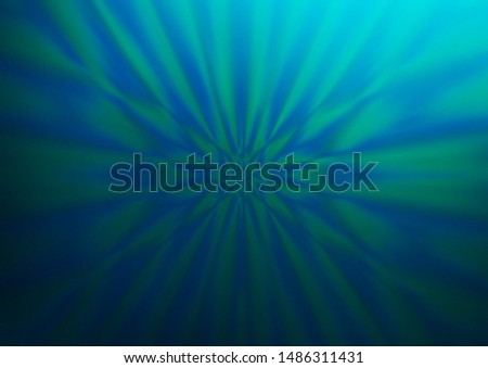 Light BLUE vector blurred shine abstract template. Shining colorful illustration in a Brand new style. A new texture for your design.