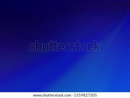 Light BLUE vector blurred shine abstract template. Shining colorful illustration in a Brand new style. A completely new design for your business.