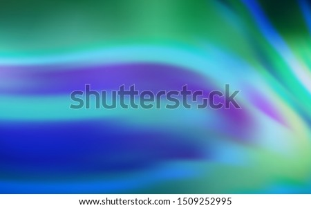 Light BLUE vector blurred shine abstract texture. Shining colored illustration in smart style. Background for a cell phone.