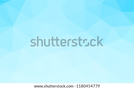 Light BLUE vector blurry hexagon template. Colorful illustration in abstract style with gradient. A new texture for your design.