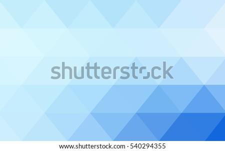 light blue vector blurry