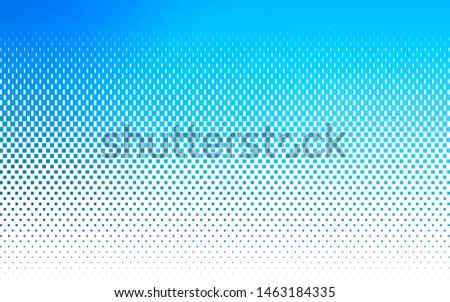 Light BLUE vector layout with lines, rectangles. Rectangles on abstract background with colorful gradient. The template can be used as a background.