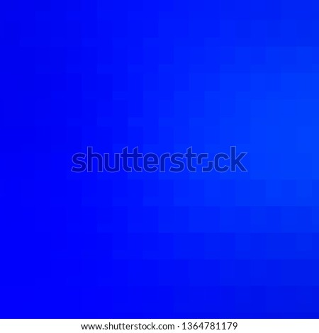 Light BLUE vector layout with lines, rectangles. Rectangles with colorful gradient on abstract background. Design for your business promotion.