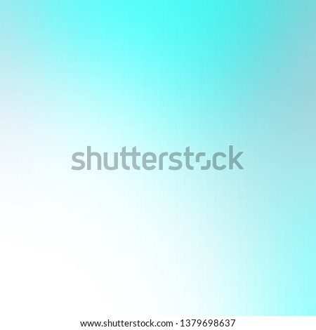Light BLUE vector layout with lines, rectangles. Rectangles with colorful gradient on abstract background. Pattern for busines booklets, leaflets