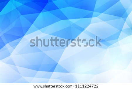 light blue vector low poly