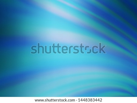 Light BLUE vector modern elegant background. An elegant bright illustration with gradient. The blurred design can be used for your web site.