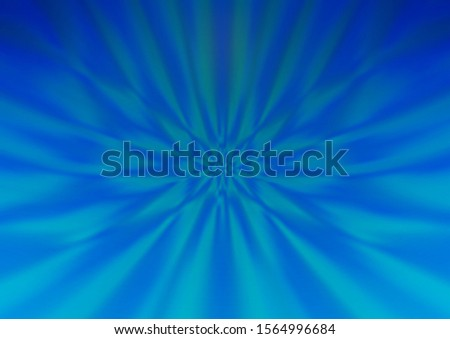 Light BLUE vector modern elegant background. An elegant bright illustration with gradient. The template can be used for your brand book.