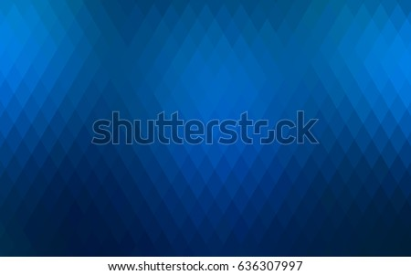 light blue vector polygonal
