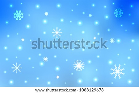 light blue vector template with