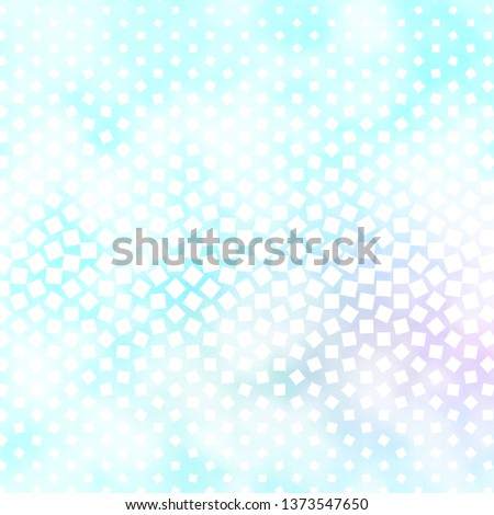 Light BLUE vector template with rectangles. Rectangles with colorful gradient on abstract background. Pattern for busines booklets, leaflets