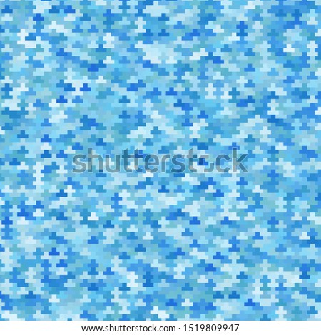 Light BLUE vector template with rectangles. Rectangles with colorful gradient on abstract background. Pattern for commercials, ads.