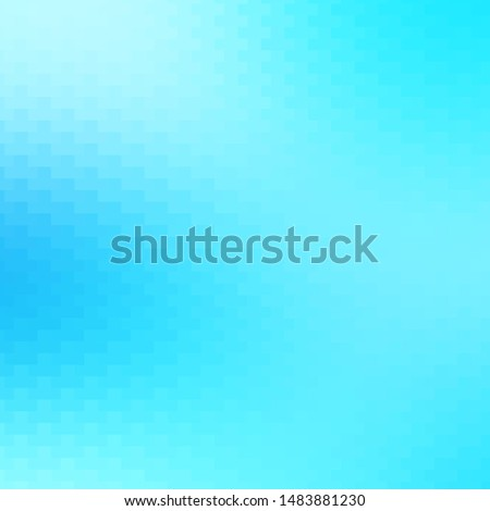 Light BLUE vector texture in rectangular style. Illustration with a set of gradient rectangles. Pattern for commercials, ads.