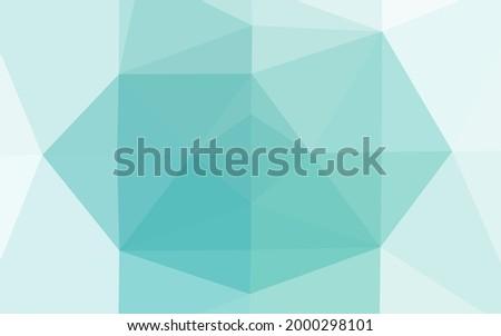 light blue vector triangle
