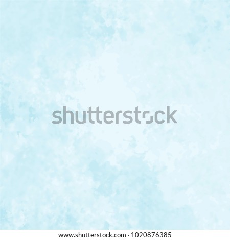 light blue watercolor marble