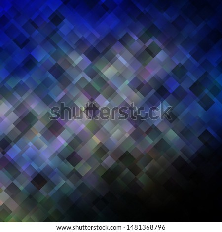 Light Blue, Yellow vector layout with lines, rectangles. New abstract illustration with rectangular shapes. Pattern for commercials, ads.