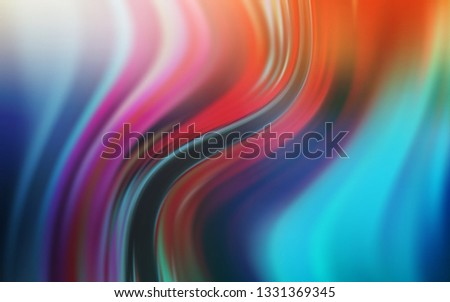 Light Blue, Yellow vector modern elegant background. An elegant bright illustration with gradient. The best blurred design for your business.