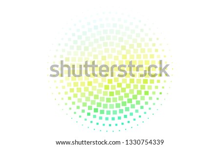 Light Blue, Yellow vector template with crystals, rectangles. Rectangles on abstract background with colorful gradient. Smart design for your business advert.